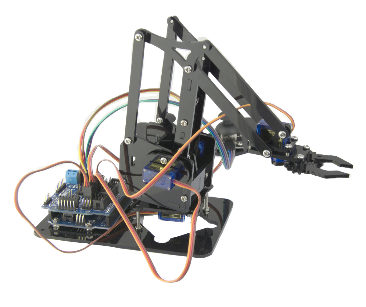 Ebotics Arm Robot Robotics And Programming Kit DYI With Double Joystick Gamepad