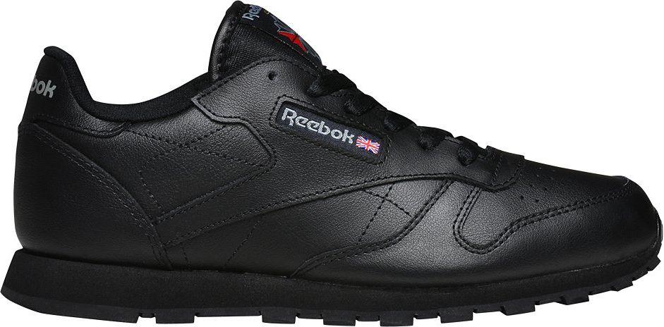 Reebok Buty dzieciece Classic Leather czarne r. 36.5 (50149) 50149