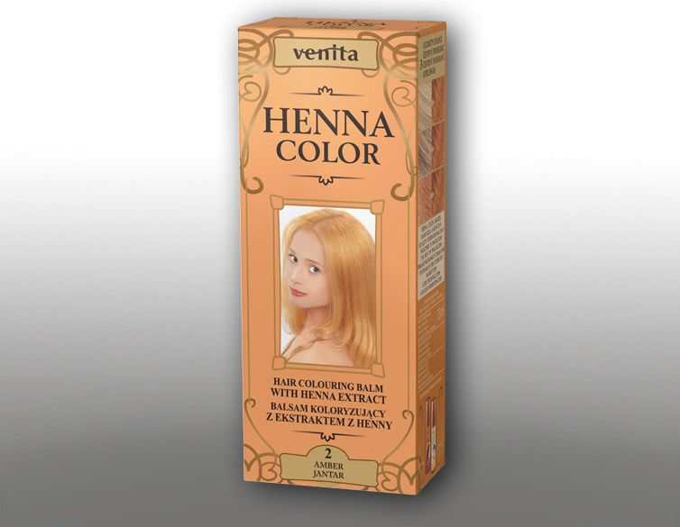 Venita Ziolowe Balsamy Henna Color 2 Jantar 75ml V1082