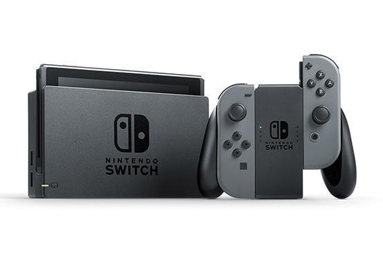 Nintendo Switch grey Joy-Con V2 (10002431) spēļu konsole