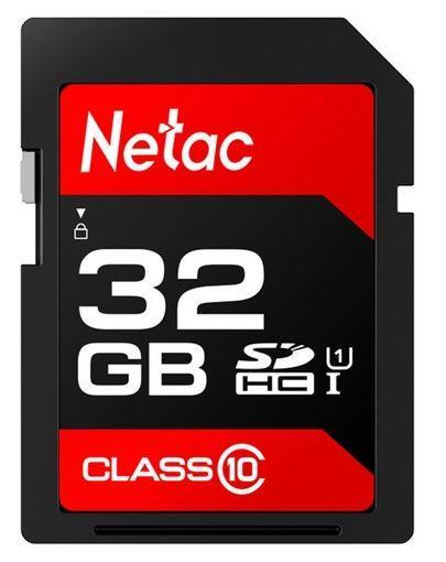 Netac P600 SDHC 32 GB Class 10 UHS-I  (NT02P600STN-032G-R) atmiņas karte