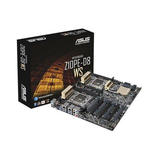 ASUS Z10PE-D8 WS, Intel C612 Mainboard - Dual-Sockel 2011-V3 pamatplate, mātesplate
