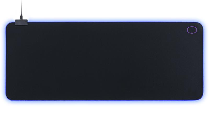 Mousepad MasterAccesory MP750 XL backlight black 940x380mm peles paliknis