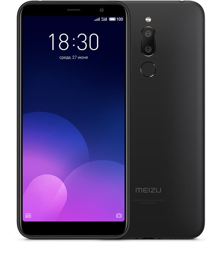 Meizu M6T 2GB/16GB Black Mobilais Telefons