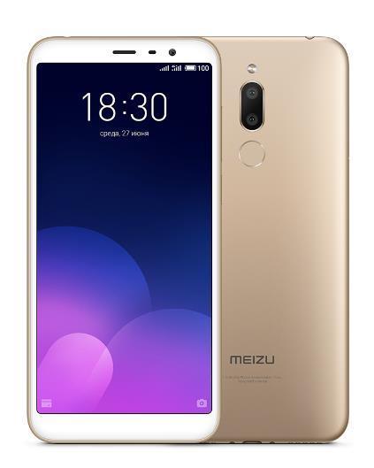 Meizu M6T 3GB/32GB Gold Mobilais Telefons
