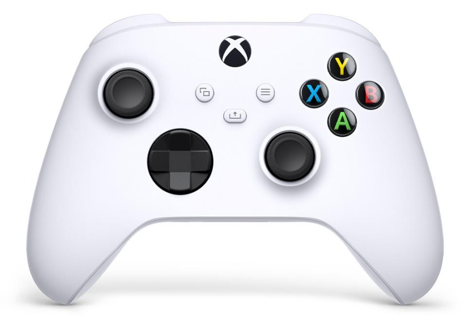 Microsoft XBOX Series Wireless Controller robot white QAS-00002 spēļu konsoles gampad