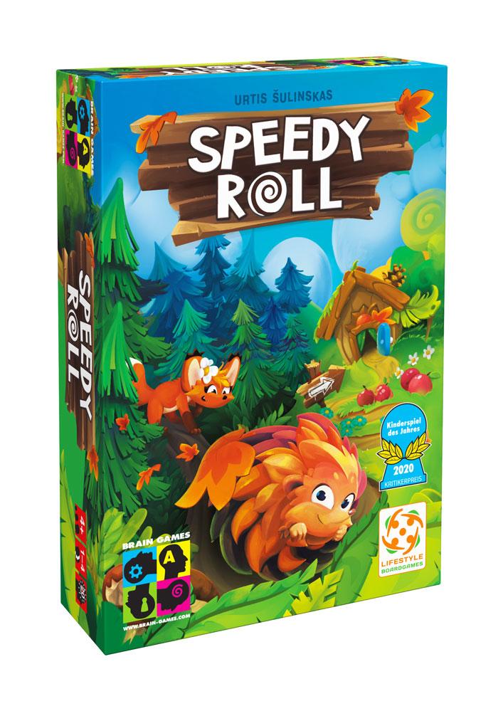 Brain Games Speedy Roll LV galda spēle