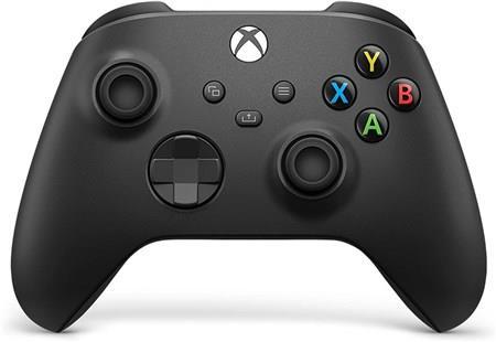 Microsoft XBOX Series X/S Wireless Controller carbon black QAT-00002 spēļu konsoles gampad