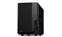 DS218 2x0HDD 2GB 4x1.4G hz 1xGbE 3xUSB H265 VC-1 cietais disks