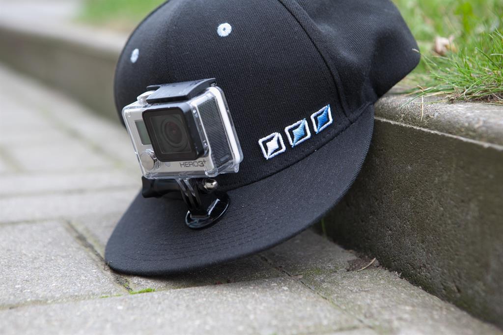 PRO-mounts PRO-mounts PRO-cap Black - PM2014GP77 Sporta kameru aksesuāri