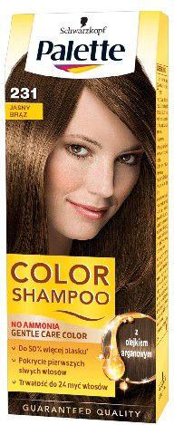 Palette Color Shampoo Coloring Shampoo No. 231 Light Brown
