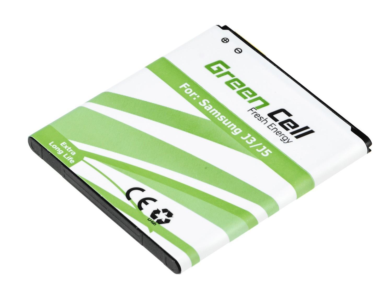 Green Cell Smartphone Battery for Samsung Galaxy Grand Prime SM-G531F, Samsung Galaxy J5, Samsung Galaxy J3 akumulators, baterija mobilajam telefonam
