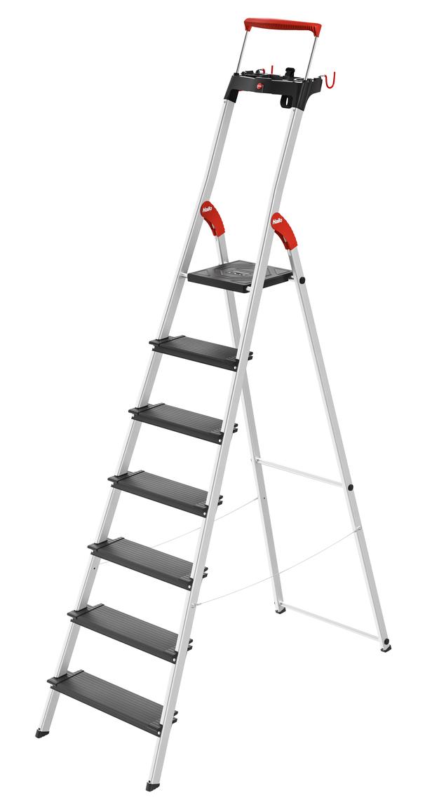HAILO Kapnes majsaimniecibas L100 TopLine / aluminija / 7 pakapieni 038050707