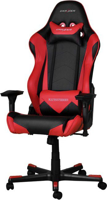 DXRacer Racing RZ0 Gaming Chair - black/Red datorkrēsls, spēļukrēsls