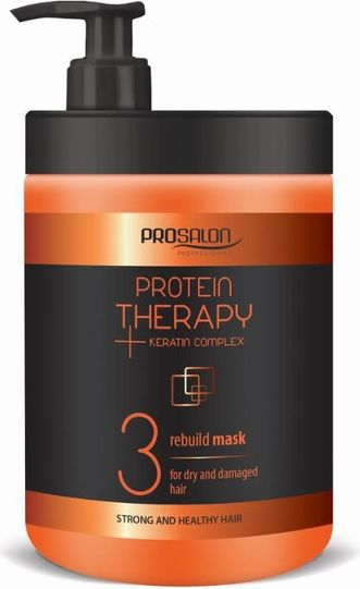 Chantal Prosalon Protein Therapy Keratin Complex 3 Mask For Dry And Damaged Hair Mask for dry and damaged hair 1000g