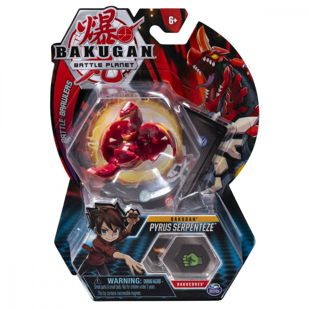 BAKUGAN 8A Leviathan Red