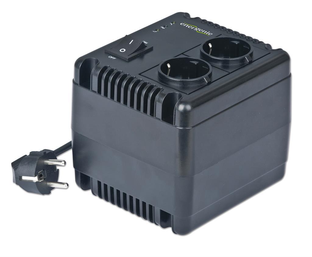 AVR and Stabilizer LED   230V 1000VA 2xSchuko UPS aksesuāri