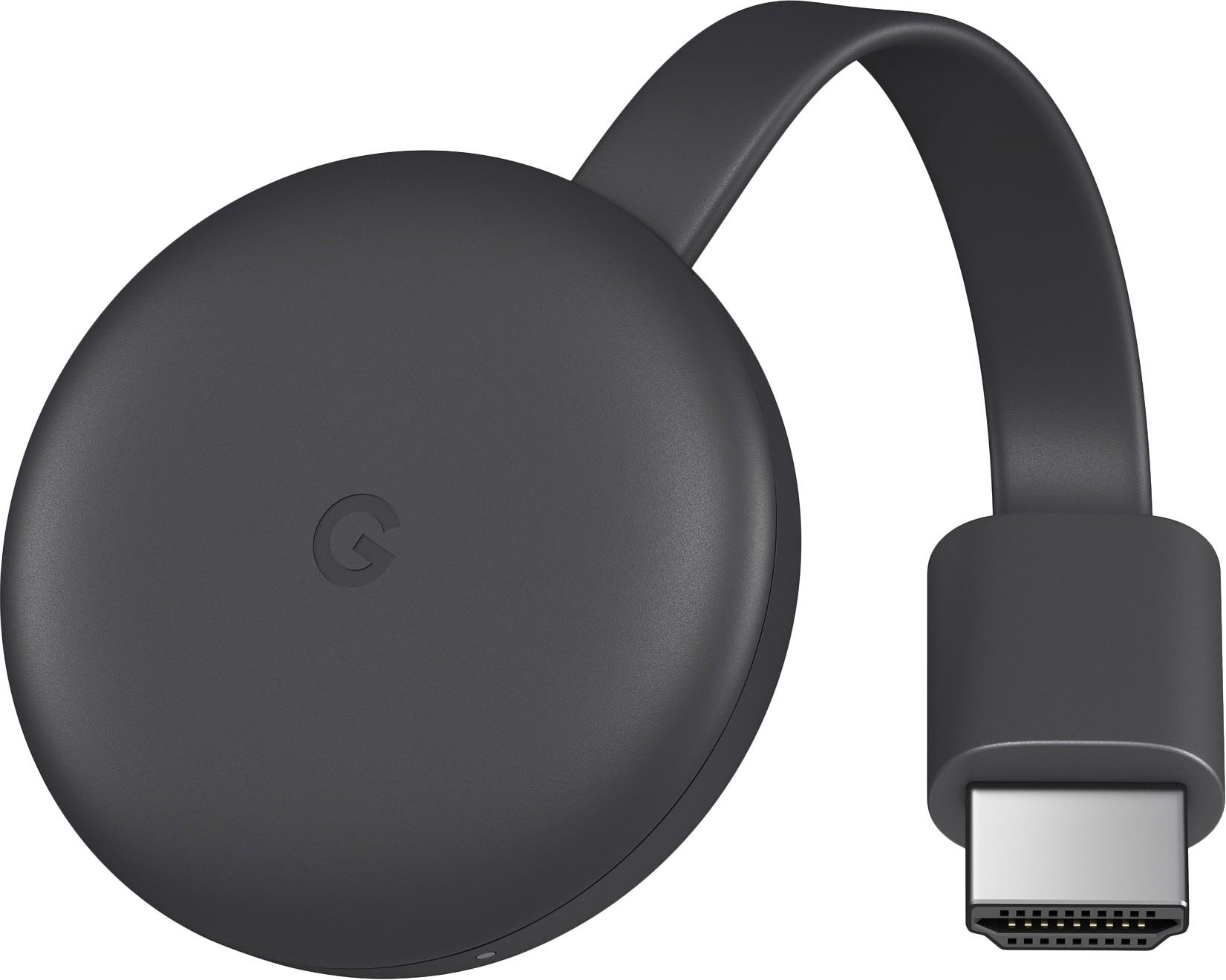 Google Chromecast Gen3 III 2018 multimēdiju atskaņotājs