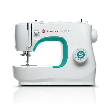 Singer Sewing Machine M3305 Number of stitches 23, Number of buttonholes 1, White 7393033102982 Šujmašīnas