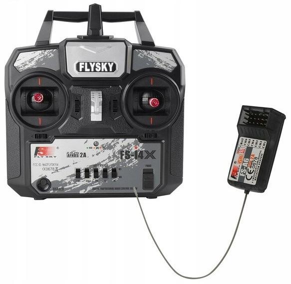 FlySky FS-i4X  2.4GHz + receiver FS-A6 FS-i4X+A6
