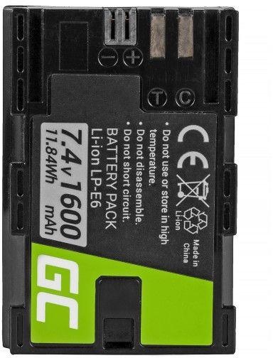 Green Cell LP-E6 for Canon EOS 70D, 5D Mark II/ III, 80D, 7D Mark II, Baterija