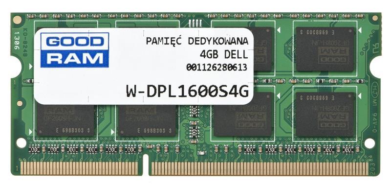 Memory notebook HP 4GB/1600(1333/1066)