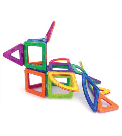 Magnētiskais konstruktors; MagMaster Mini Plus  22 detaļas MM22 puzle, puzzle