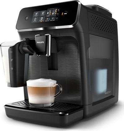 Philips Espresso Coffee maker EP2230/10 Built-in milk frother, Fully automatic, Matte Black Kafijas automāts