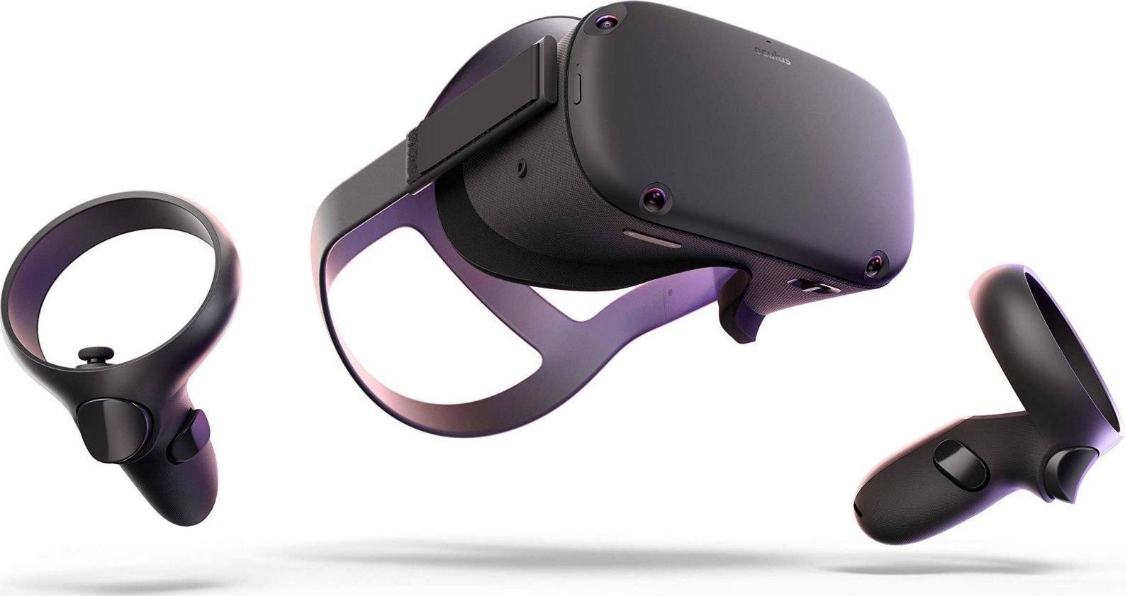 Oculus Quest Virtual Reality Stand-Alone-Headset - 64GB spēļu aksesuārs