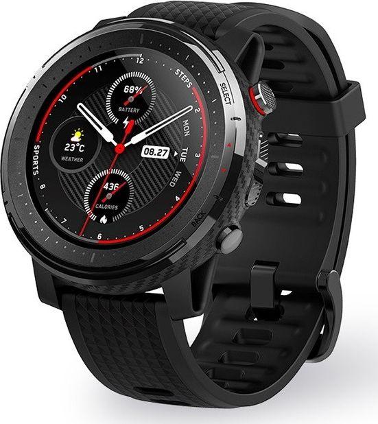 Xiaomi Amazfit Stratos 3 Black Viedais pulkstenis, smartwatch