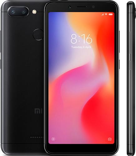 XIAOMI Redmi 6 4GB/64GB Black Mobilais Telefons