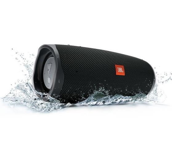 JBL Charge 4, Portable Bluetooth speaker, 30W, Waterproof, 7500mAh, Black pārnēsājamais skaļrunis