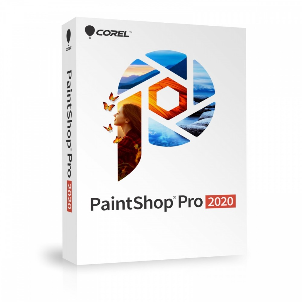PaintShop Pro 2020 Mini Box PSP2020MLMBEU