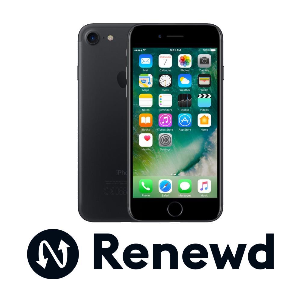 Apple Iphone 7 32GB Black Refurbished Mobilais Telefons