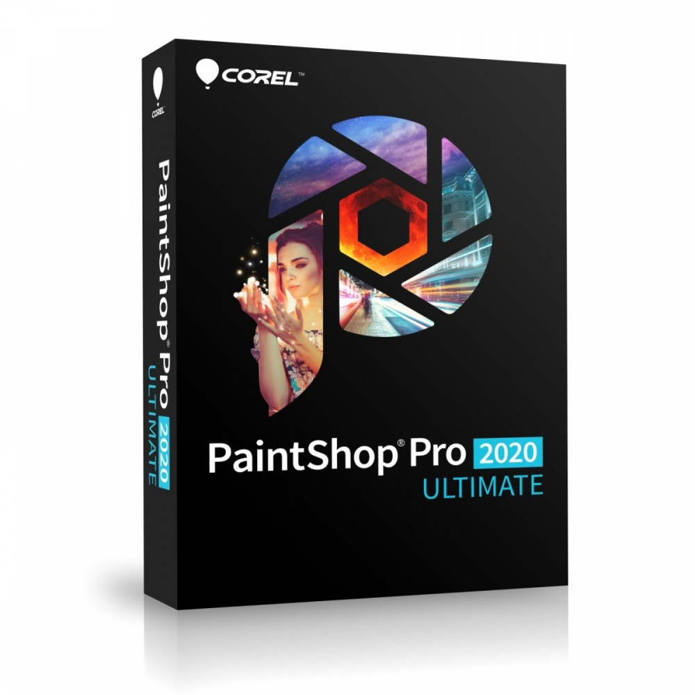 PaintShop Pro 2020 Ulti mate Box PSP2020ULMLMBE