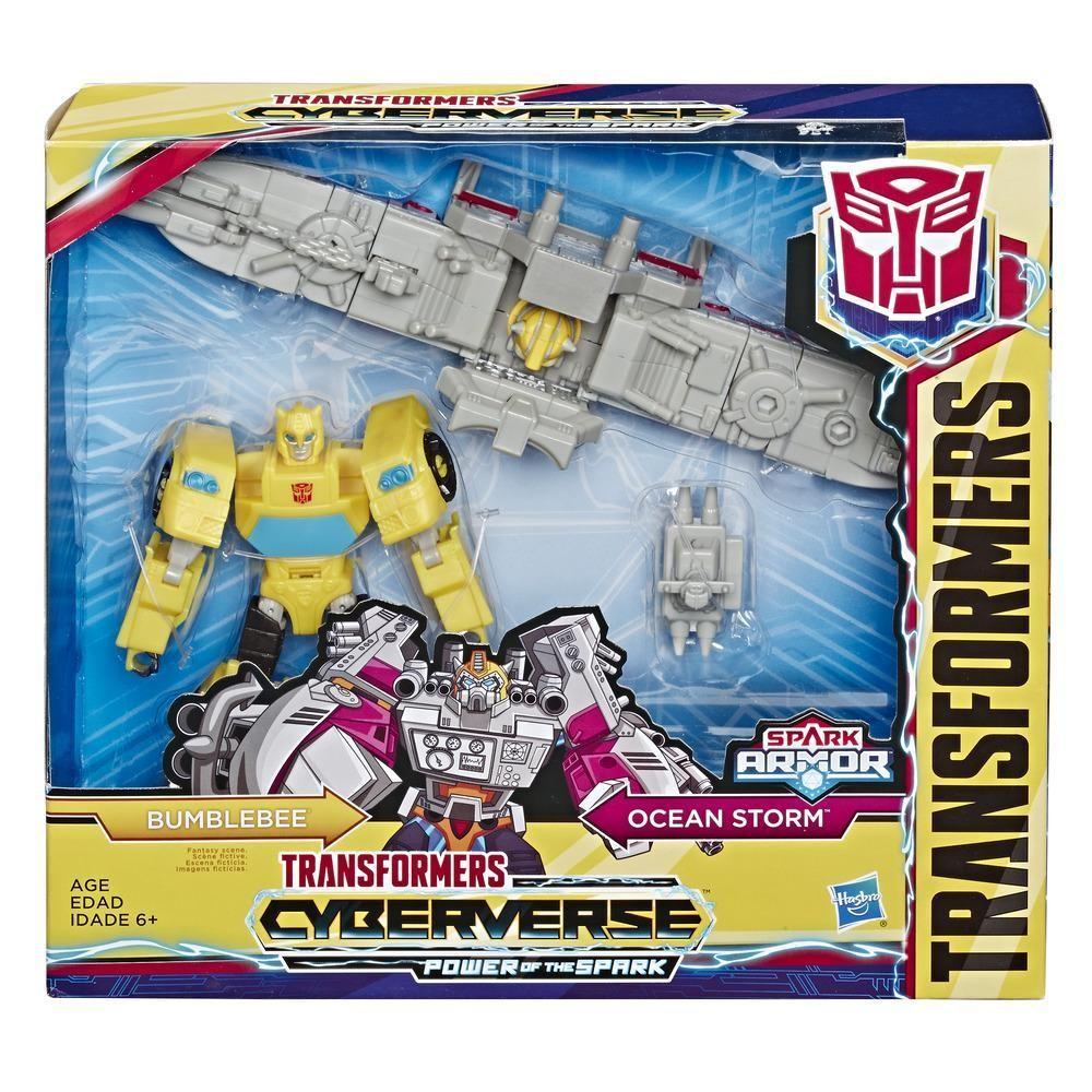 Hasbro Figure Transformers Cyberverse Spark Armor Bumblebee