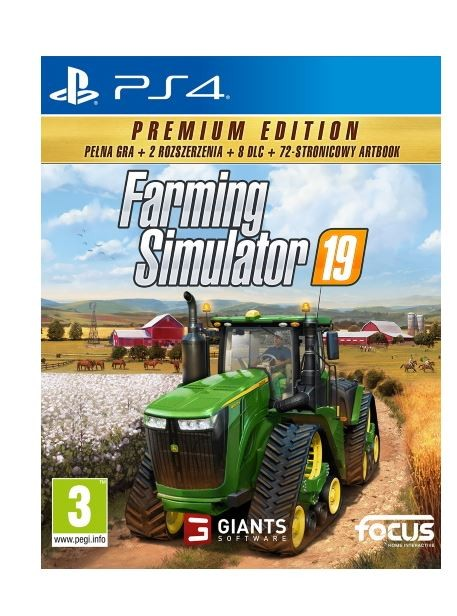 Game PS4 Farming Simulator 19 Premium Edition