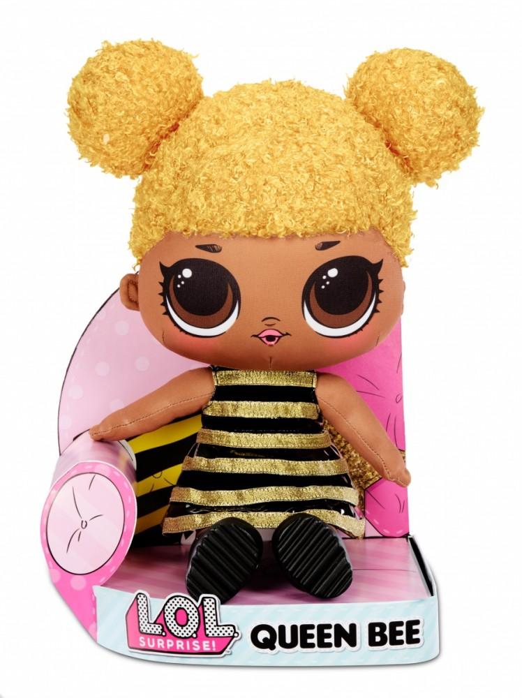 MGA Mascot doll L.O.L. Susprise Plush, Queen Bee bērnu rotaļlieta