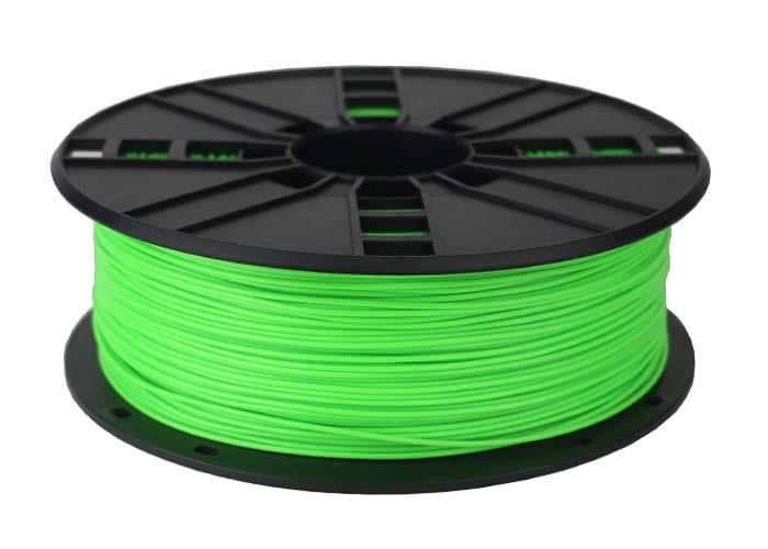 Filament Gembird ABS Fluorescent Green | 1,75mm | 1kg 3D printēšanas materiāls
