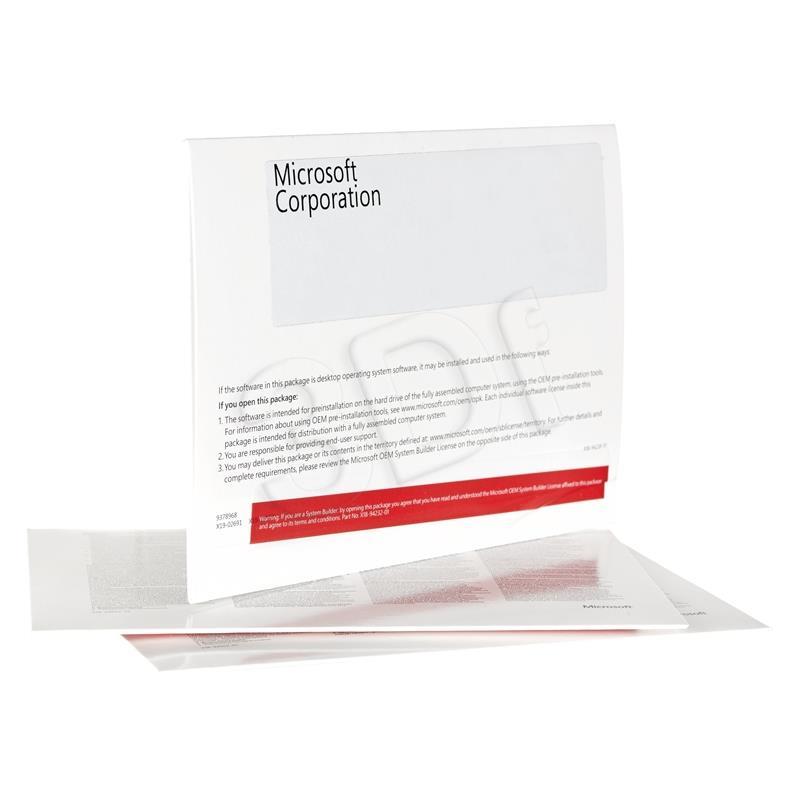 Microsoft Windows 10 Home PL x64 DVD OEM KW9-0012