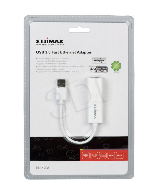 Edimax USB2.0 to Fast Ethernet Adapter