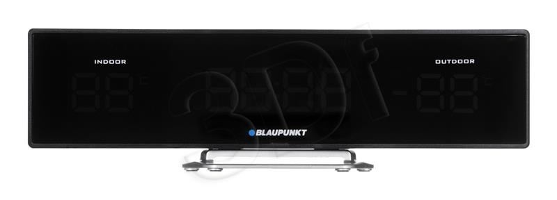 Clock Radio Blaupunkt CR12BK, FM PLL, temperature in/out | black magnetola