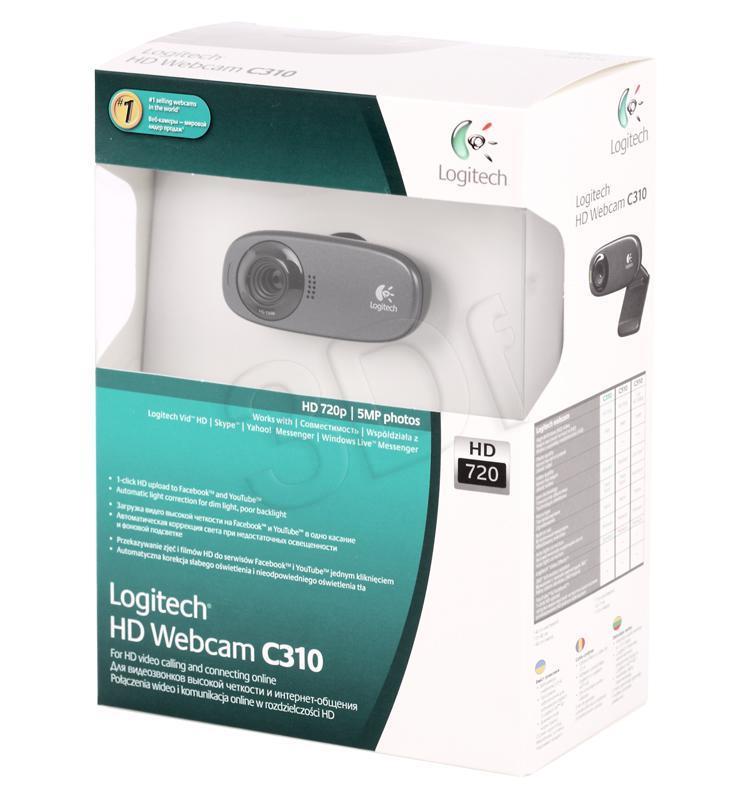 Logitech C310 HD Webcam web kamera