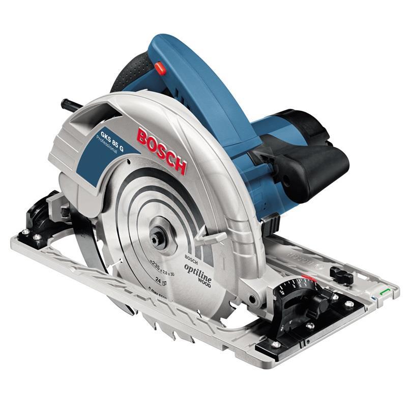 Bosch Circular Saw 85mm GKS 85 G Professional (060157A901) Elektriskais zāģis