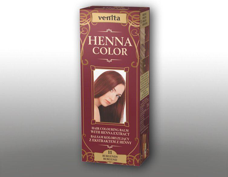 Venita Ziolowe Balsamy Henna Color  11 Burgund 75ml V1091