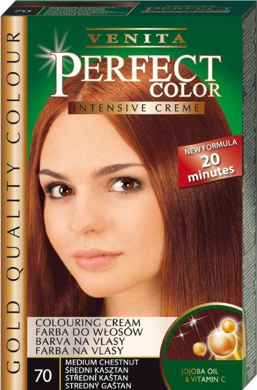 Venita Perfect Color Gold Hair dye 070