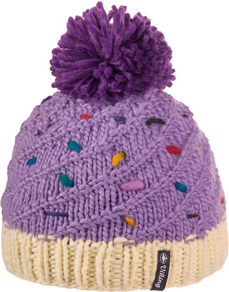 Viking Czapka Kids Cupcake fioletowa (201/19/2244) 201/19/2244/50/UNI