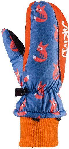 Viking Rekawice dzieciece Kids Digi niebiesko-pomaranczowe r. 4 (125/20/0011/53) 125/20/0011/53/4