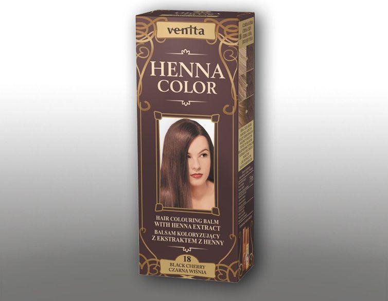 Venita Ziolowe Balsamy Henna Color 18 Czarna wisnia  75ml V1098