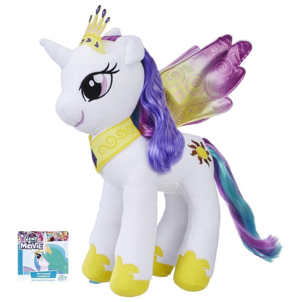 Hasbro Plush Toy My Little Pony Princess Celestia white (E0034 / E0429)